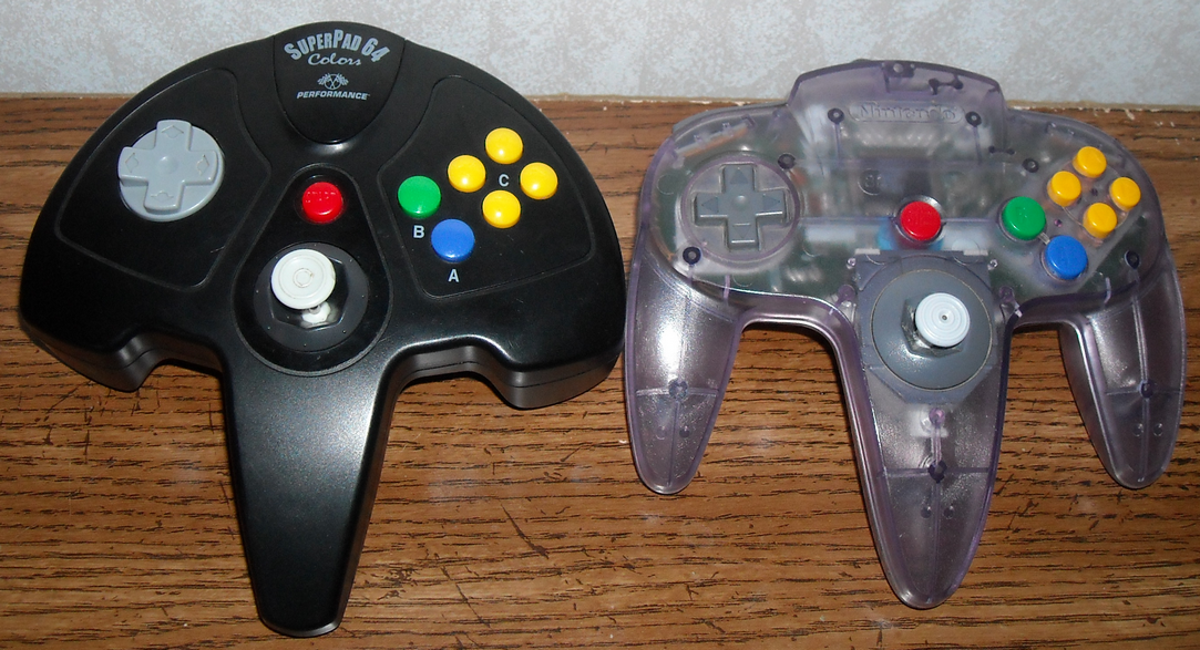 n64 controller how to hold