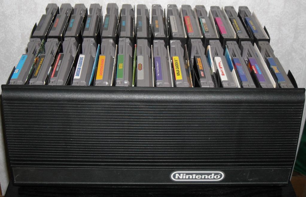 Video Game Storage Part 2