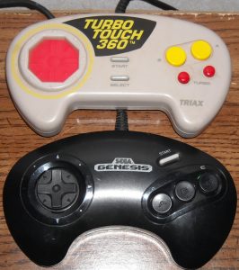 Now you can see how closely is resembles the Genesis controller.