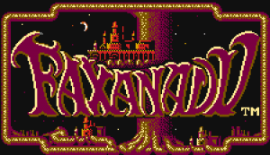 Faxanadu Logo
