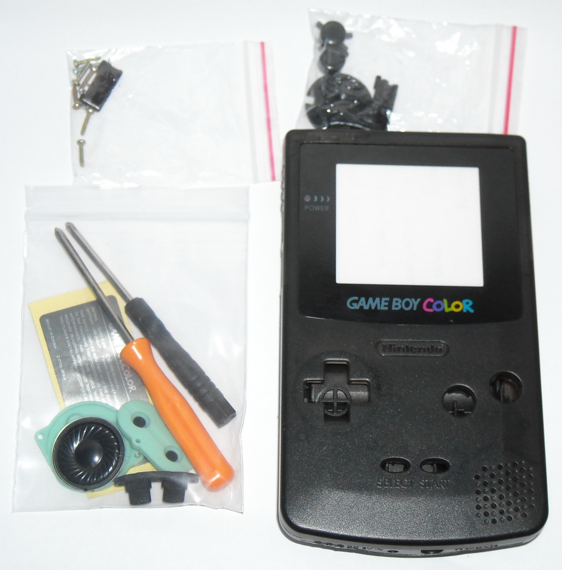 Game Boy Color Reshell Tutorial and Review